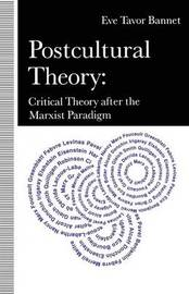 Postcultural Theory by Eve Tavor Bannet image
