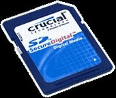 Crucial Secure Digital Card 256MB