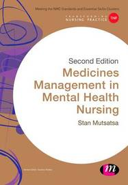 Medicines Management in Mental Health Nursing by Stanley Mutsatsa image