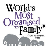 World's Most Organised Family 2018 Wall Calendar