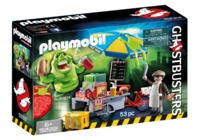 Playmobil: Ghostbusters - Slimer's Hotdog Stand Playset (9222)