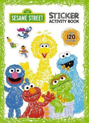Sesame Street: Sticker Activity Book image