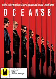 Ocean's 8 on DVD