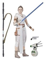 "Star Wars The Black Series: Rey & D-0 - 6"" Action Figure"