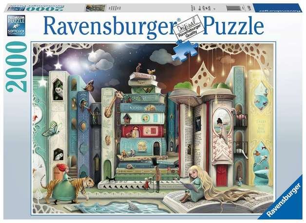 Ravensburger: 2,000 Piece Puzzle - Novel Avenue