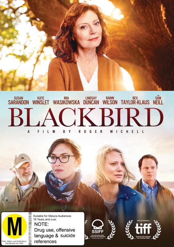 Blackbird on DVD