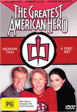 The Greatest American Hero - Season 2 (6 Disc Set) on DVD