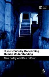 "Hume's ""Enquiry Concerning Human Understanding"": A Reader's Guide by Alan Bailey image"