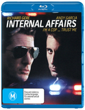 Internal Affairs on Blu-ray