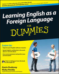 Learning English as a Foreign Language For Dummies by Gavin Dudeney