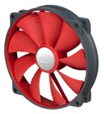 Deepcool: Ultra Silent 140mm Ball Bearing Case Fan - Red