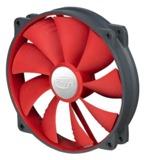 Deepcool: Ultra Silent 140mm Ball Bearing Case Fan - Red