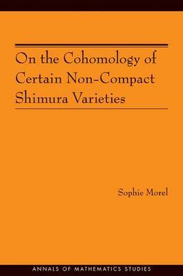On the Cohomology of Certain Non-Compact Shimura Varieties (AM-173) by Sophie Morel image