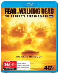 Fear The Walking Dead - The Complete Second Season on Blu-ray