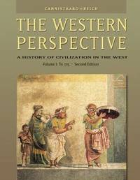The Western Perspective: Volume 1 by Philip V. Cannistraro image