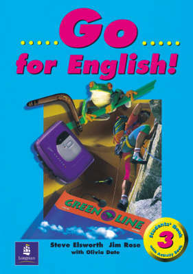 Go for English! Student's Book 3 by Steve Elsworth image