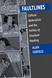 Faultlines by Alan Sinfield