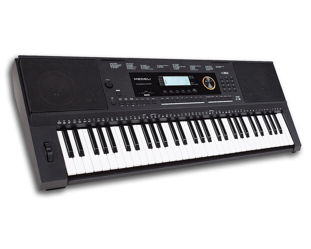 Medeli M17 61 Note Touch Response Keyboard