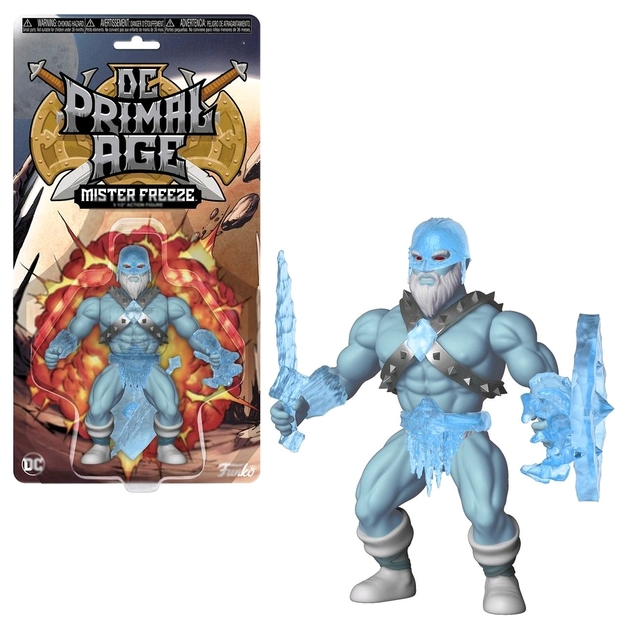"DC Primal Age: Mr Freeze - 5"" Action Figure"