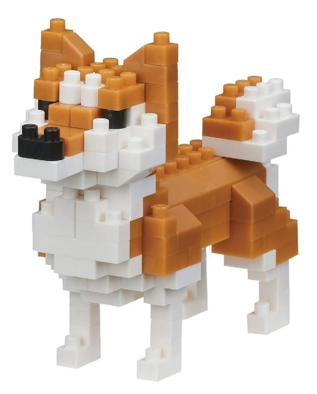 nanoblock: Dogs Series - Shiba-inu