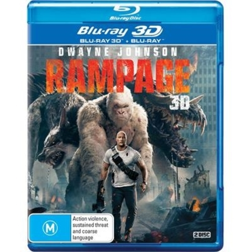 Rampage on 3D Blu-ray