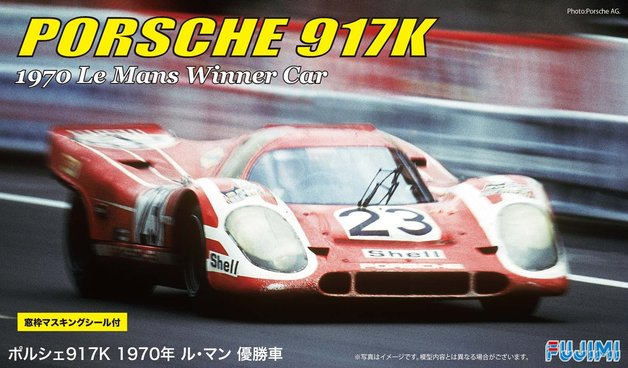 Fujimi: 1/24 Porsche 917K '70 Le Mans Championship Car - Model Kit