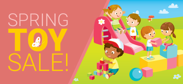 Spring Toy Sale!
