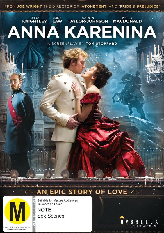 Anna Karenina on DVD
