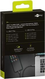 Goobay: USB-C to USB-A Cable (3m) - Black