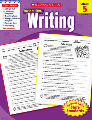 Scholastic Success with Writing, Grade 5 by Barbara Adams