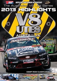 V8 Utes: Championship 2013 Series Highlights on DVD