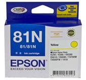 Epson Claria Ink Cartridge 81N (Yellow)