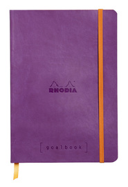 Rhodiarama A5 Goalbook Dot Grid - Violet