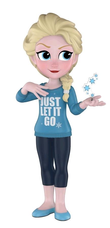 Disney - Comfy Elsa Rock Candy Vinyl Figure image