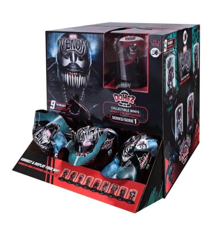 NEW Venom Domez Series 1 Minis Marvel Collectable Figure Venom #1