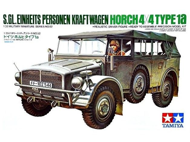 Tamiya German Horch Type 1A 1:35 Model Kit