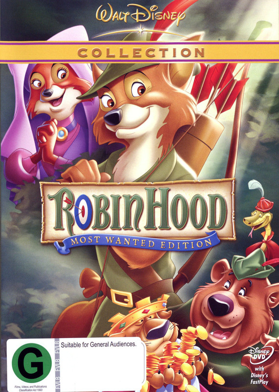 Robin Hood (1973) - Special Edition on DVD