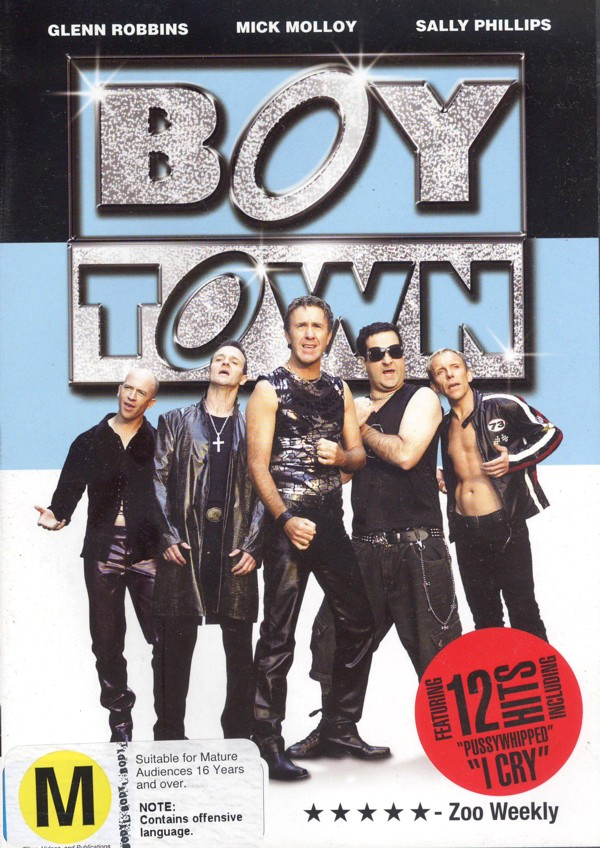BoyTown on DVD image