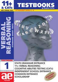 11+ Verbal Reasoning: Bk. 1 by Stephen C. Curran image
