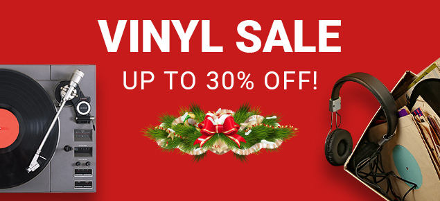 Vinyl Records Sale! Save up to 30% off!