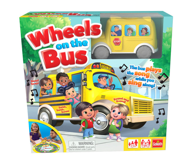 Wheels On The Bus - Children's Game