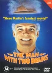 The Man with Two Brains on DVD