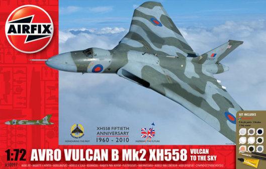 Airfix Avro Vulcan B Mk2 XH558 Gift Set 1:72 Model Kit