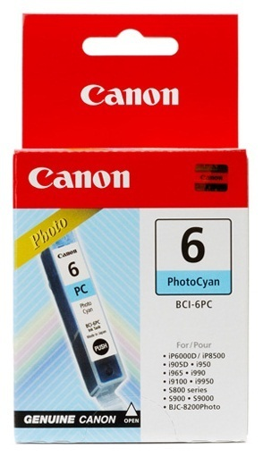 Canon Ink Cartridge Photo BCI-6PC Cyan