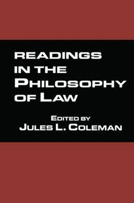Readings in the Philosophy of Law image