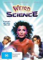 Weird Science on DVD