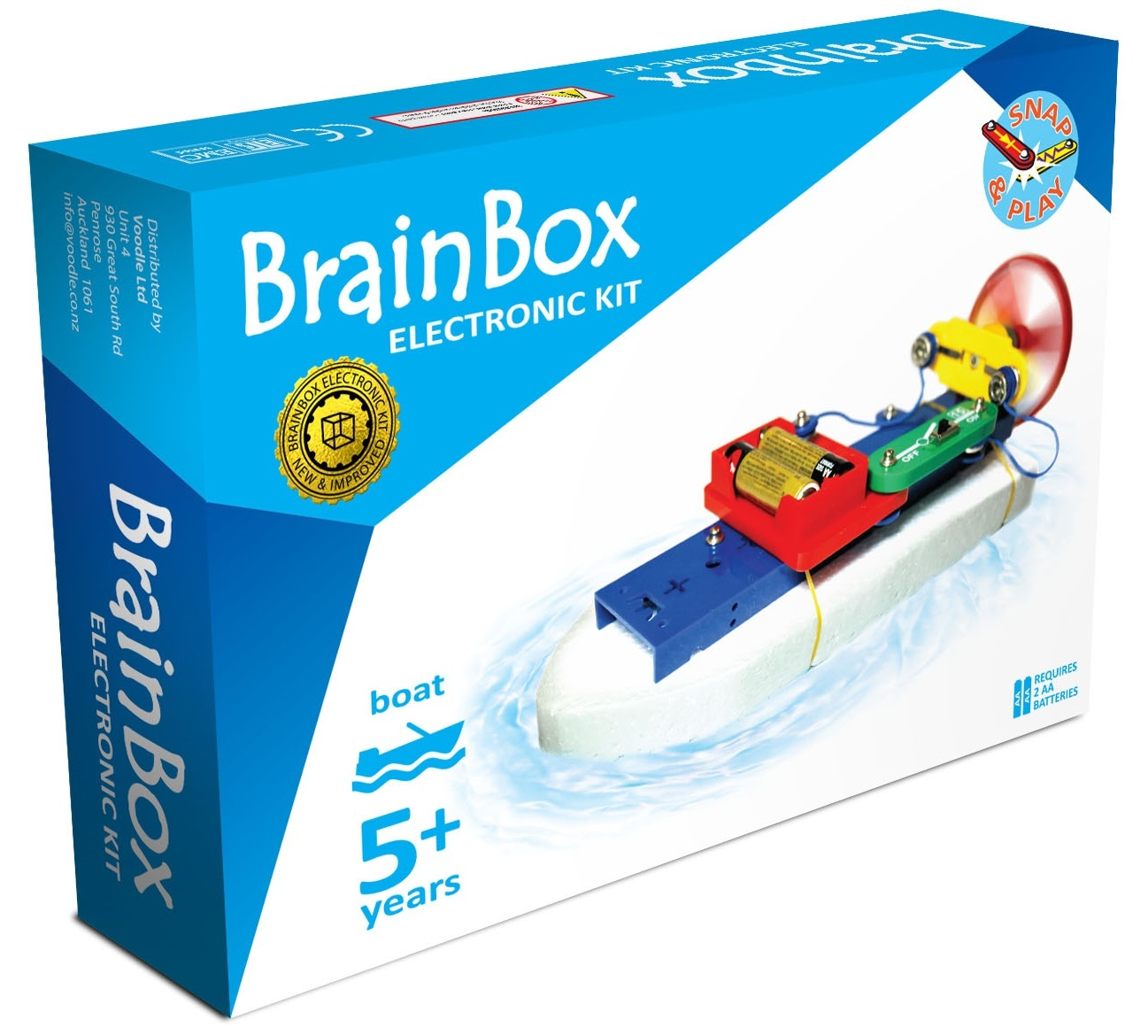Brain Box: Boat Experiment Kit image