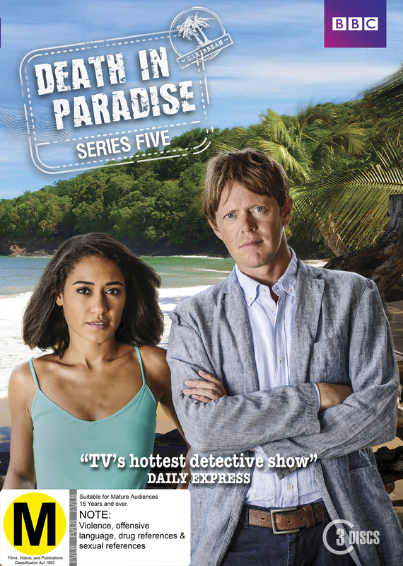 Death In Paradise: Series 5 on DVD