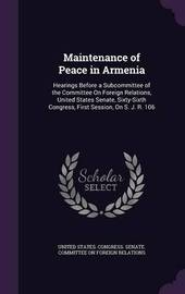 Maintenance of Peace in Armenia