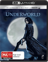 Underworld on Blu-ray, UHD Blu-ray